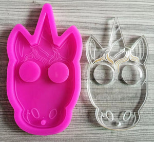 Unicorn Defense Keychain Mold