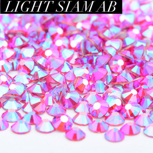 Light Siam AB Rhinestones ss12
