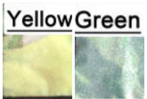 516 Yellow to Green Fish UV Glitter