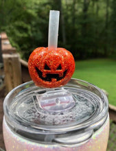 Load image into Gallery viewer, Pumpkin Straw Topper Mold