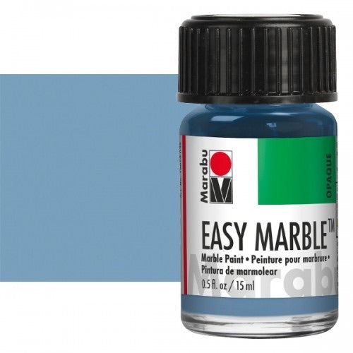140 Grey Blue Marabu Easy Marble Paint