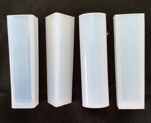 Set of 4 Small Geometric Crystal Molds