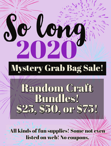So Long 2020 Mystery Craft Bag $25 ($45 value)