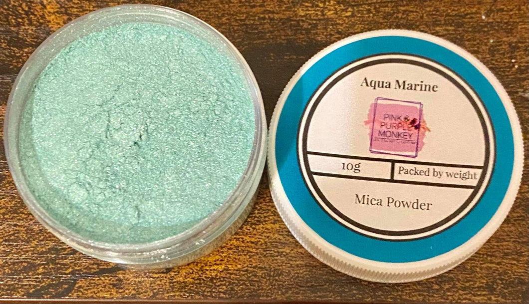 Aquamarine Mica Powder 10g
