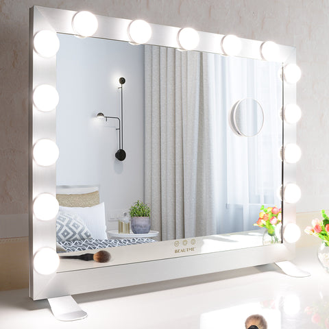 Hollywood Vanity Mirror with Lights Dressing Tabletop Vanity Mirror