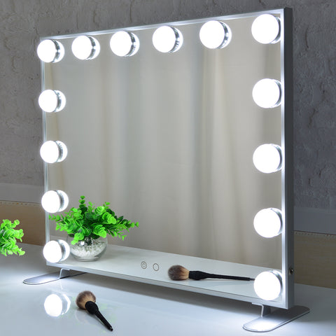 Hollywood Vanity Mirror with Lights L606 - BEAUTME MIRROR