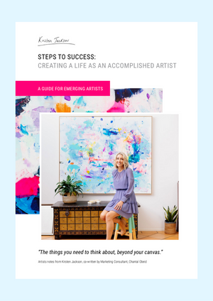 STEPS TO SUCCESS: Creating a life as an accomplished artist