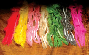 Rabbit Strips- Natural & Dyed
