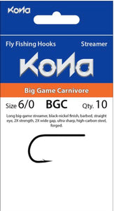 Kona Big Game Carnivore (BGC) Hook