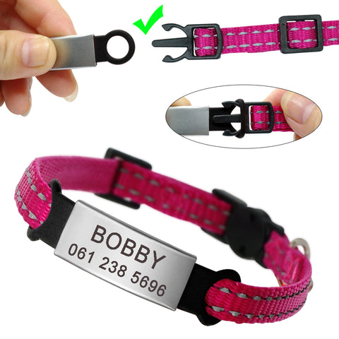 Personalized Cat Breakaway Collar