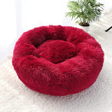 Fluffy Super Soft Dog Bed - Paws Night Out