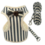 Stylish Dog Harness and Leash Set - Paws Night Out