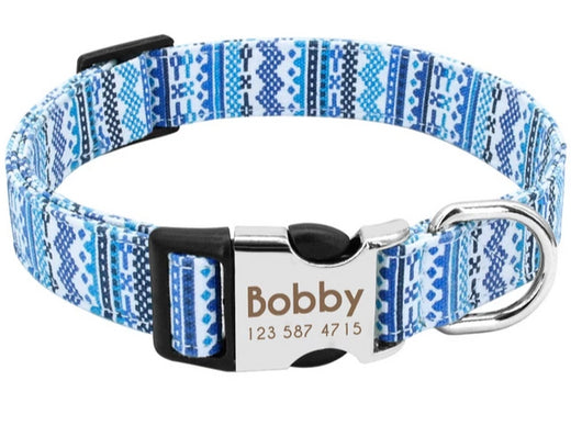 Personalized Dog Collar - Custom Engraved Dog Collar