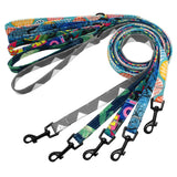 Fashionable Printed Dog Leashes - Paws Night Out