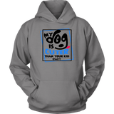 'My Dog Is Cuter Than Your Kid (Fact)' Dog Lover Hoodie - Paws Night Out