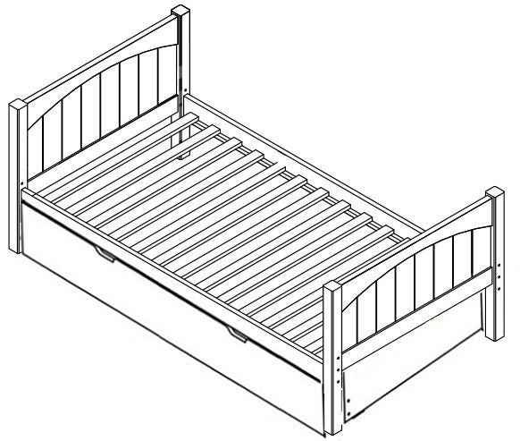Maxtrix Basic Low Bed (w Pullout)