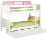 Maxtrix Low Bunk w Mounted Ladder (w Pullout)