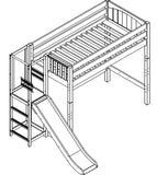 Maxtrix High Loft w Side Slide