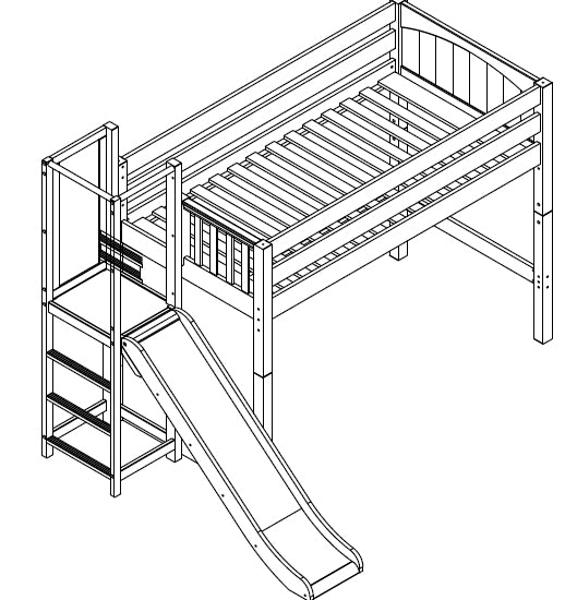 Maxtrix Mid Loft w Side Slide