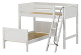 Maxtrix L-Shape Bed w Angled Ladder