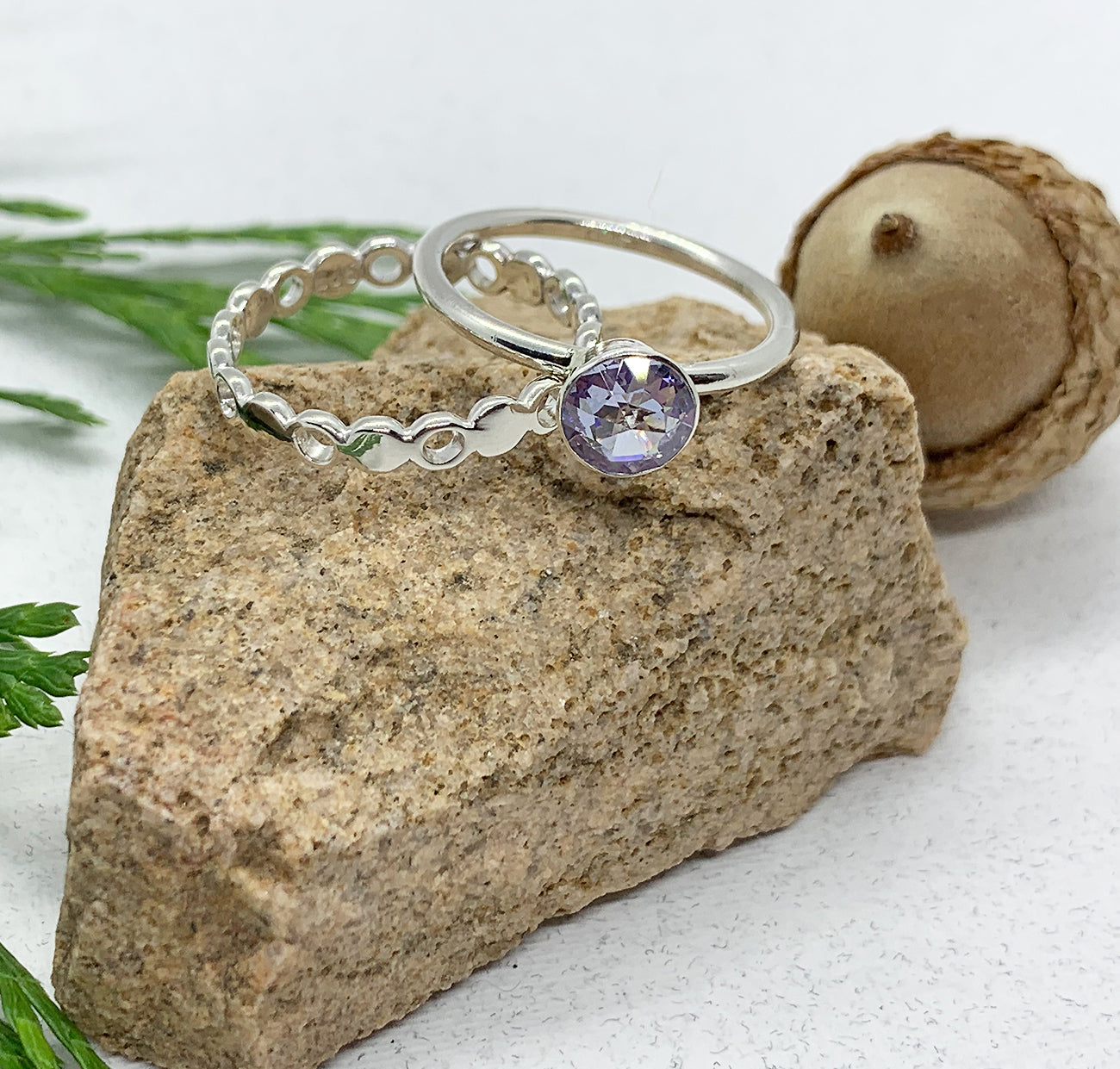 Lavender Engagement & Peek-A-Boo Set