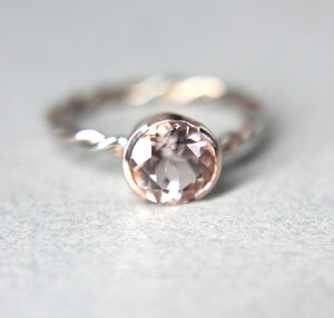 Morganite 14K Gold Ring