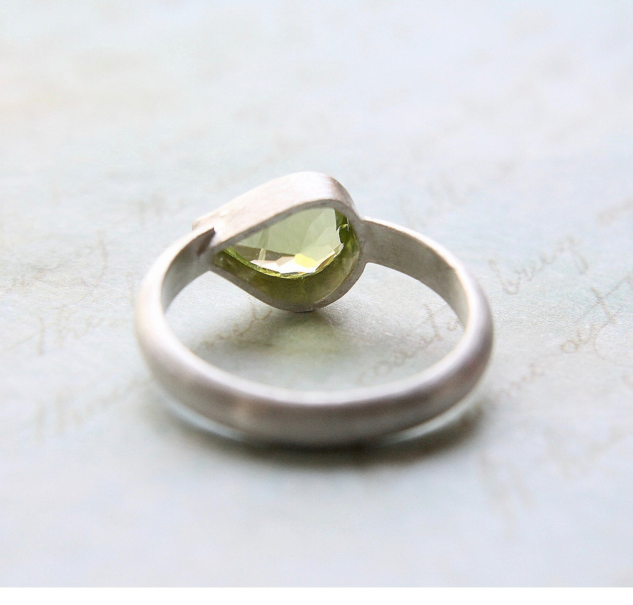 Peridot Wrap Ring