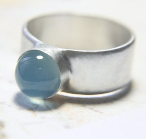 Sea Blue Cocktail Ring