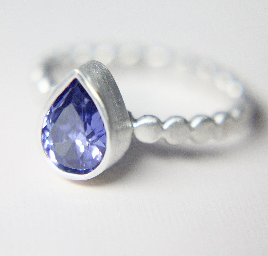 Tanzanite Pebble Ring