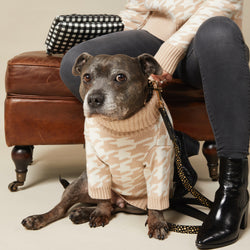 LUXE KNIT SAND DOG