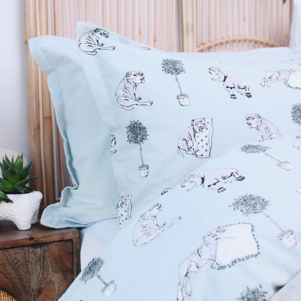 Lazy Philly Quilt Cover Set