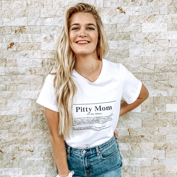 Pitty Mom Womens Tee