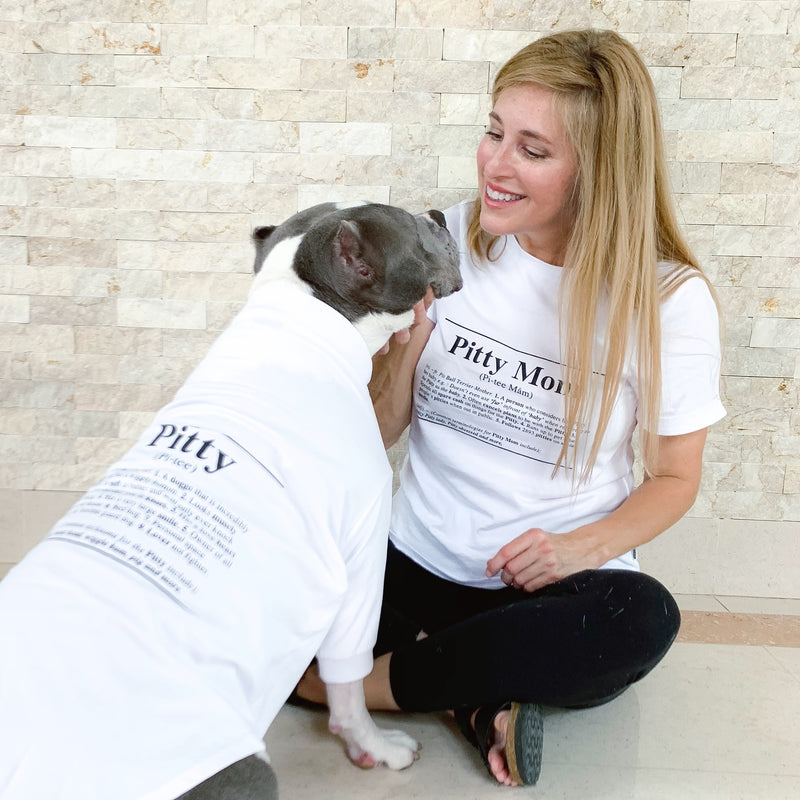 Pitty Dictionary Dog Tee