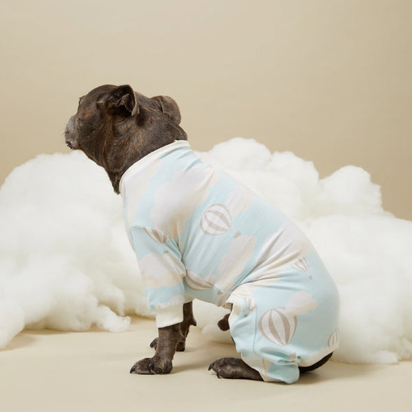 Up in the Clouds Dog Onesie - Sample Sale