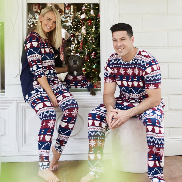 JINGLE BULLIES - MENS PJ SET - SAMPLE