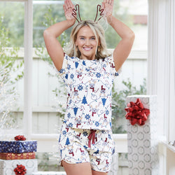 Bark the Halls Summer PJ set - SAMPLE