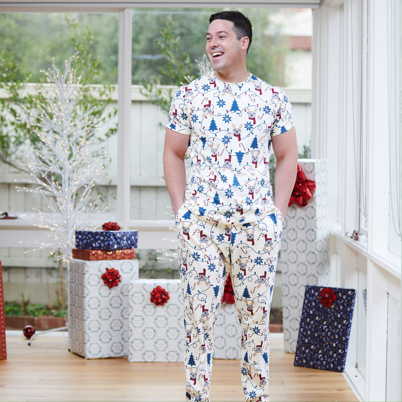 Bark the Halls Mens PJ set