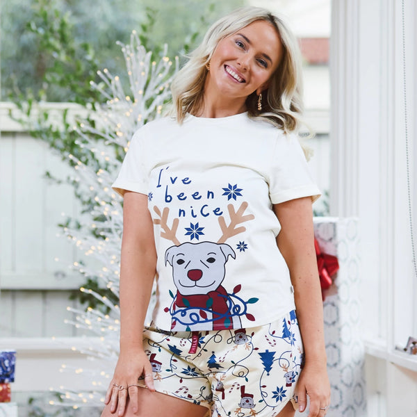 Naughty or Nice Summer PJ set
