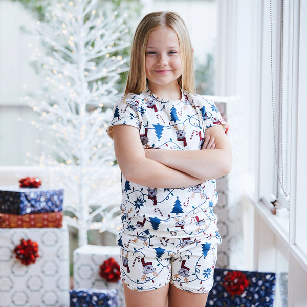 Bark the Halls Kids PJ set