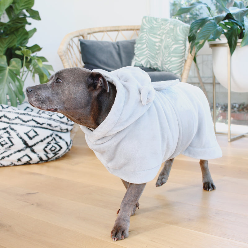 The Snuggle Buddy Dog Robe