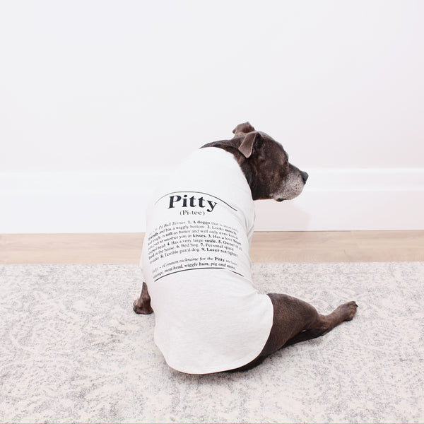 Pitty Dog Tee