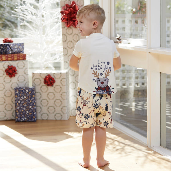 Naughty or Nice Kids PJ set