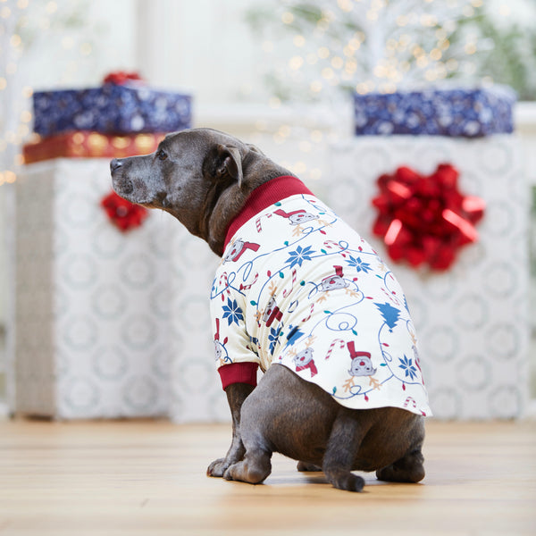 Bark the Halls Dog PJ Tee