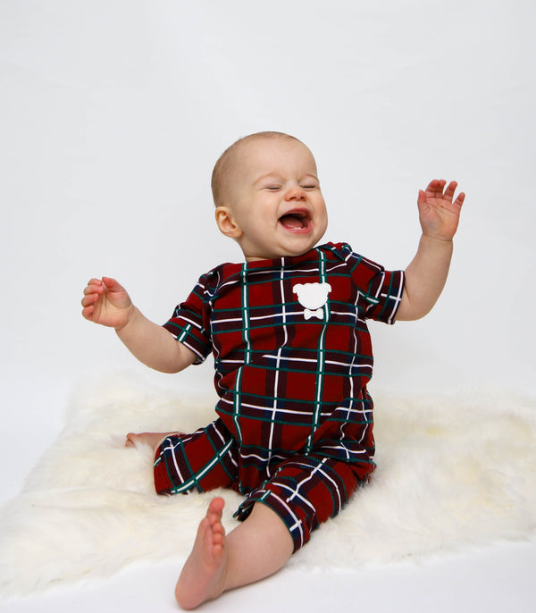 Baby Plaid Onesie