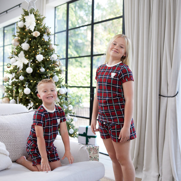 Kids Plaid Set