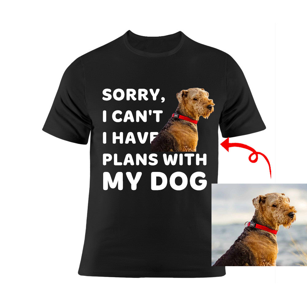 Sorry I Have Plans With My Pets—Unisex Tee
