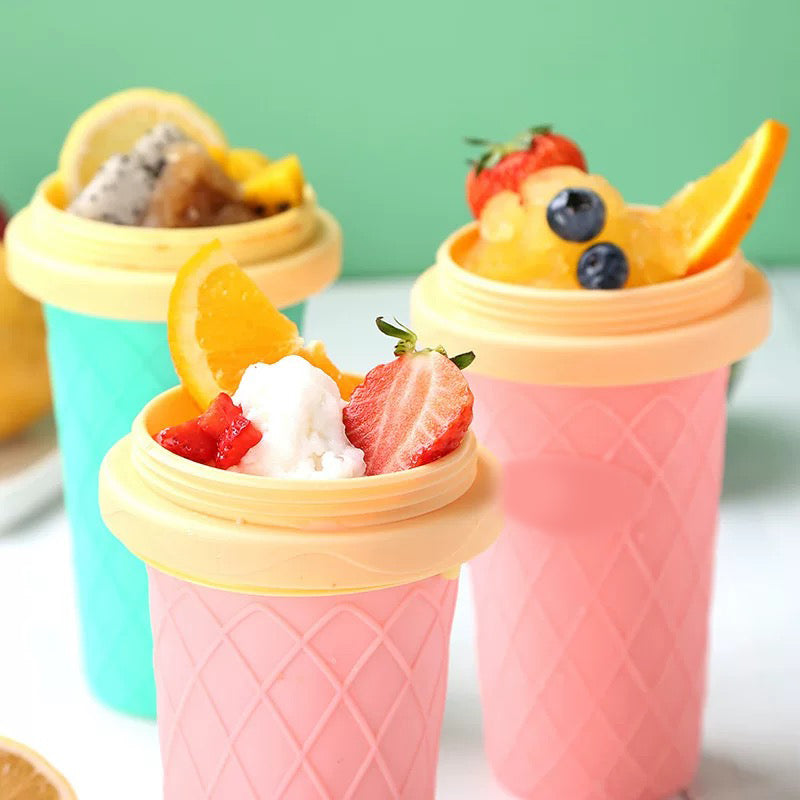 DIY Squeeze Double Layer Smoothie Cup