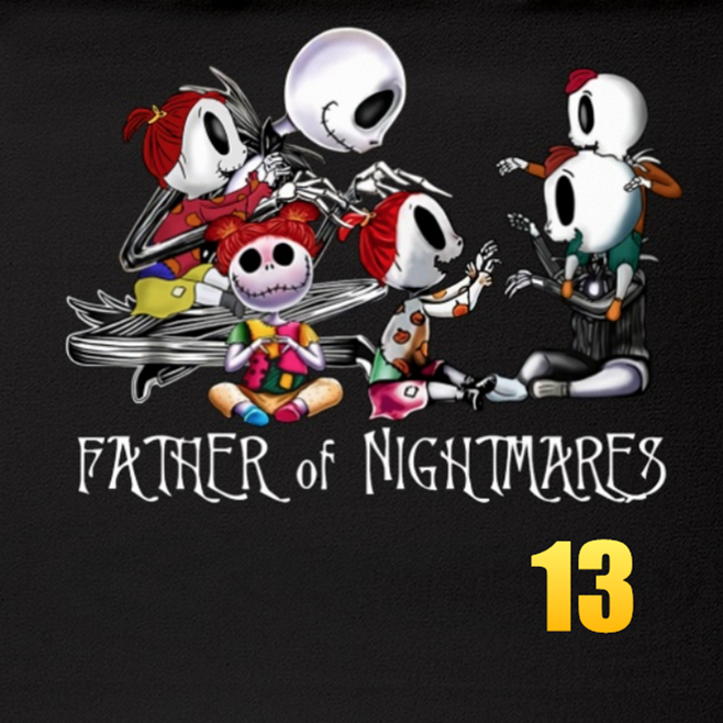 Father of Nightmares Custom Fleece Blankets  - Perfect Birthday Holiday Gifts for Dad Uncle & Grandpa