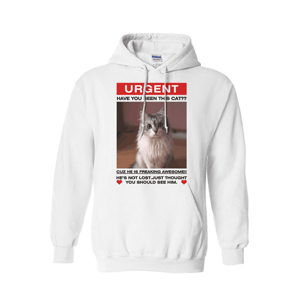 Have you seen this cat - Personalized Cat Hoodie