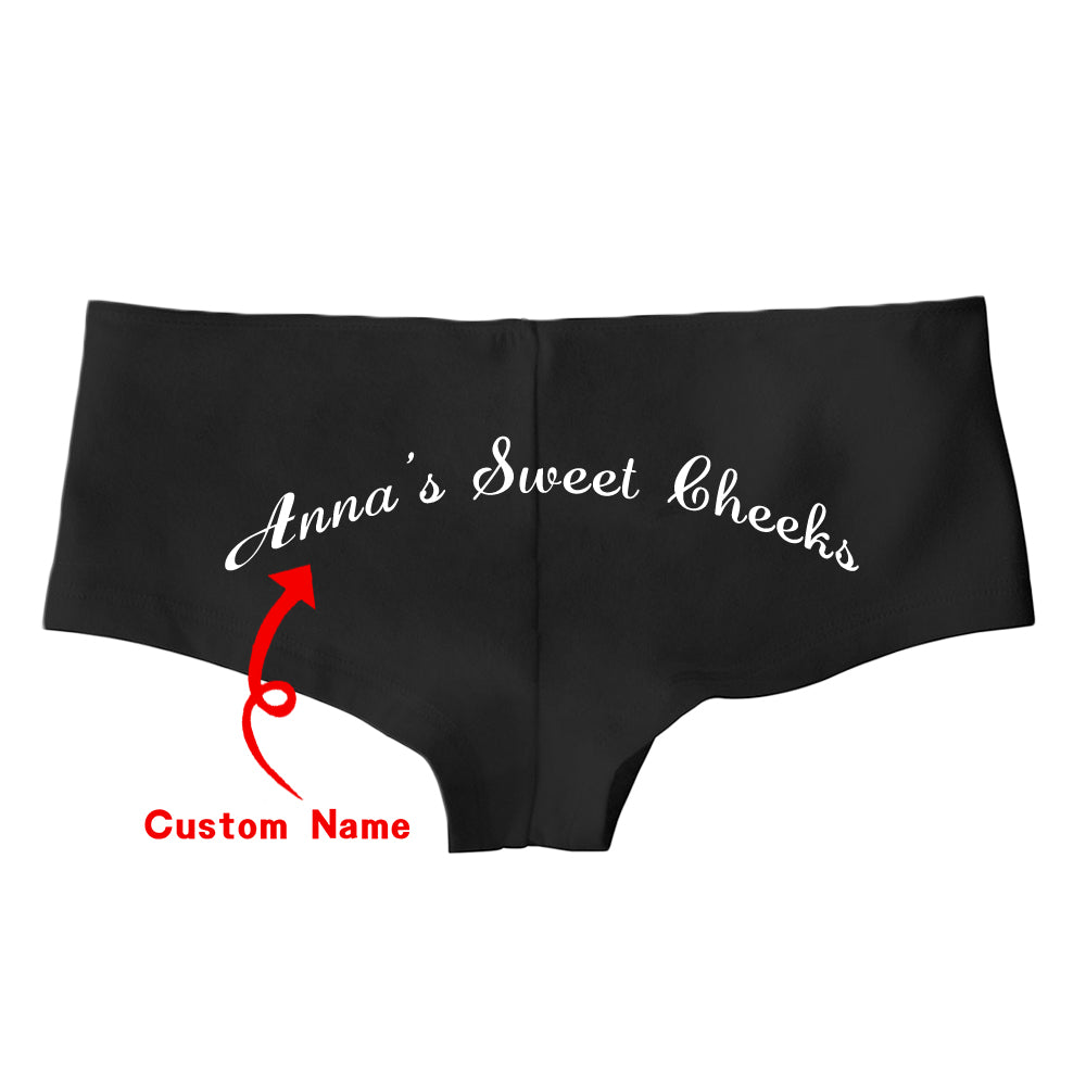Sweet Cheeks Custom Ladies Hotshort Underwear